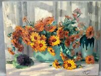1920s FRENCH IMPRESSIONIST STILL LIFE OIL PAINTING- Gustave Madelain (1867-1944)