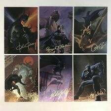 BATMAN MASTER SERIES (Skybox 1995) Complete FANTASY ART Foil Chase Card Set of 6