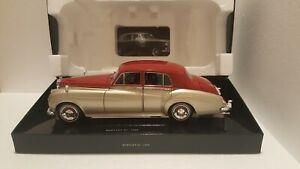 "1/18 Minichamps ""Bentley S2 1960 Gold-Red"" Nuovo in Box Originale"