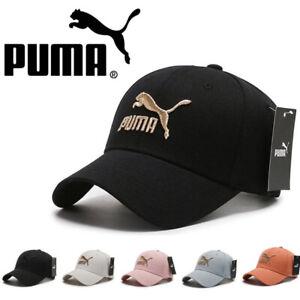 PUMA Baseball Cap Caps hat adjustable Mens Women New UK