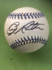 CHARLIE MORTON AUTOGRAPH / ON A JOE DIMAGGIO COMMEMORATIVE OFFICIAL AL BASEBALL