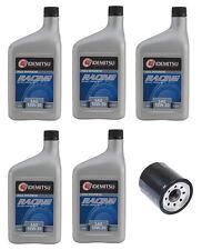 Idemitsu 5 Quarts 10W-30 Rotary Racing Motor Oil + Oil Filter Mazda RX-8 RX-7