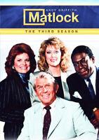 Matlock: The Third Season (Season 3) (5 Disc) DVD NEW