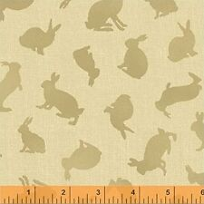 Garden Tales Beatrix Potter Rabbit 100% Cotton Fabric by the 1/4 yard off bolt