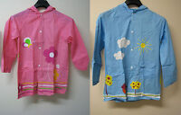 Childrens Kids Boys Girls Raincoat Outerwear Age: 6-12 Years, Size: 6, 8, 10, 12