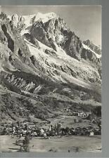 BELLA CARTOLINA COURMAYEUR ENTREVES GRANDES JORASSES  1950