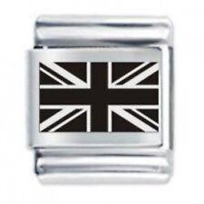 DAISY Charm 13mm ITALIANO Ciondolo Grande Bandiera Union Jack