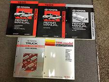 1995 Toyota Truck PICK UP Service Repair Shop Manual Set W EWD + TRANS BK + FEAT