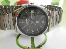 VINTAGE RAILWAY TIMING ALLWYN INDIAN  AUTOMATIC WATCH GOOD CONDITION