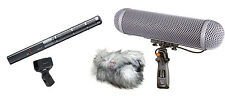 Sennheiser MKH 60 Shotgun Mic w/ Rycote Modular Windshield WS 4 Kit