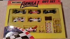 MATCHBOX FORMULA 1, WILLIAMS, FERRARI, SAUBER, FOOTWORKS (6 CARS) 1/64