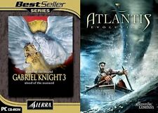 atlantis evolution & gabriel knight 3 blood of the sacred blood of the damned
