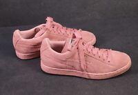 SB370 Puma Damen Sneaker Sportschuhe Gr. 37,5 Leder Suede rosa Low-Top