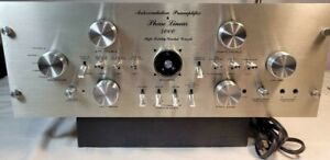 """PHASE LINEAR Model 4000 Series I Preamp """"Extremely Nice"""" Condition (Read Detail)"""
