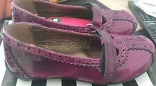 infant size 1 EU 33 purple girls shoes bnib buckle my shoe