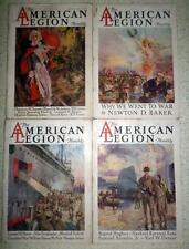Lot of 24 American Legion Magazines 1927-1928-1929 Nice Old Ads Stories Articles