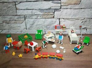 Playmobil Klicky Krankenzimmer und Kinderzimmer Figuren und Zubehör