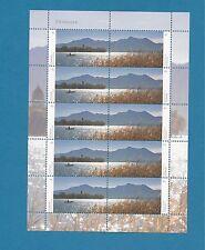 BRD / BUND  Nr. 3162-3163 , Chiemsee Panorama ,  kompletter  Zehnerbogen  ** !!