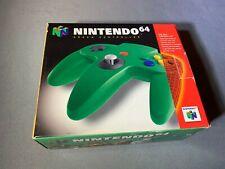 Nintendo 64 N64 Green Controller Official Brand New
