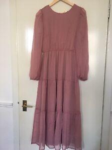 Missguided Playsuit Midi Dress Size10