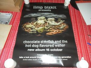 LIMP BIZKIT-CHOCOLATE STARFISH  ORIGINAL  PROMO POSTER 2000