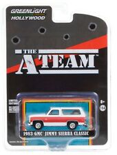1:64 GreenLight *Hollywood The A-Team* White 1983 Gmc Jimmy Sierra Blazer Nip!