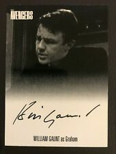 The Avengers Complete Collection Christopher Benjamin Swindin Autograph Green