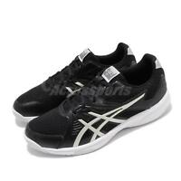 Asics Upcourt 3 Black Silver Mens Volleyball Badminton Shoes 1071A019-005