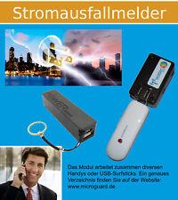 GSM Alarm Anruf SMS Stromausfall Melder MicroGuard-USB Power Bank