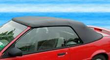CHEVROLET CAVALIER  1993-95 CONV.TOP+NH GLASS - BLACK - FINISHED FRONT EDGE