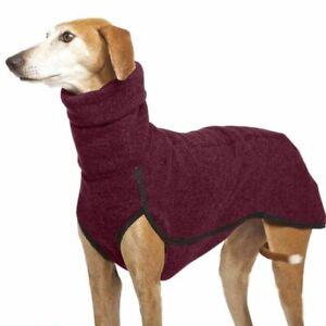High Collar Pet Clothes for Medium Large Dogs Winter Warm Dog Coat Pharaoh Hound