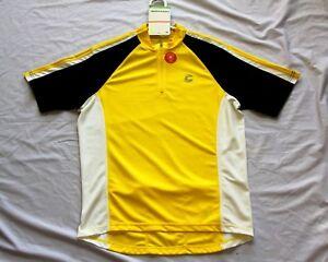Medium 2009 Cannondale Ride Jersey Yellow