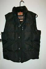 Parajumpers Down Vest Winter Equipment Slim Fit Men's M, Black, EUC