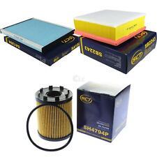 Inspektionspaket Service Kit Filtersatz Opel Corsa D Van Fiat Punto/Grande Punto