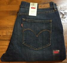 LEVI'S CURVE ID BOLD CURVE CLASSIC BOOT CUT LEG Jeans - Women's 16 Short NWT