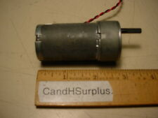 Barber coleman # FYQF-63310-9  small DC gearmotor 300 rpm 12 vdc
