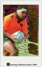 1996 Futera Rugby Union Trading Cards HOBBY NO BARRIERS NB5 Willie Ofahengaue