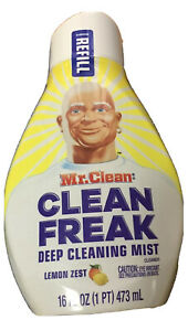 MR.CLEAN FREAK DEEP CLEANING MIST Cleaner - LEMON ZEST 16oz REFILL