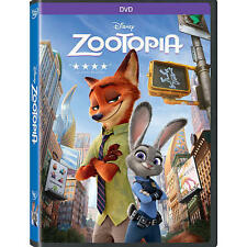 NEW - Zootopia DVD 2016 Animation, Kids, Comedy, Family SEALED NOW SHIPPING !