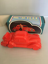 Vintage Avon '36 Ford Red Glass Car with Oland After Shave, Full New Nib