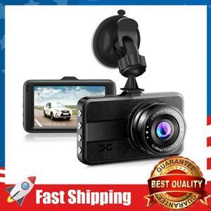 """Dash Cam FHD 1080P Car Camera DVR Dashboard w/ 3"""" LCD Screen Driving Recorder"""