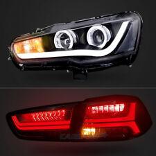 LED Headlights & Tail Lights For  2008-2017 Mitsubishi Lancer & EVO X Assembly