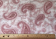 JOANN STORES PAISLEY 41 x 36 piece fabric cotton Quilting Tracy Porter #72