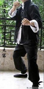 Chinese Kung Fu Wing Chun Suits Martial Tai Chi Uniform Bruce Lee Three-piece