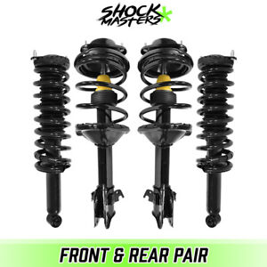 Front & Rear Quick Complete Strut & Springs Kit for 2000-2004 Subaru Outback