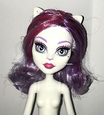 Monster High ShriekWrecked Shriek Mates Catrine DeMew Nude Cat Doll w/ Tail NEW