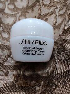 SHISEIDO ESSENTIAL ENERGY Moisturizing Cream Mini (0.35 Oz) UNBOX
