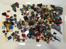 8 Ounces of Non Lego Minifig Parts and Accessories Megablok Heroes TMNT I273