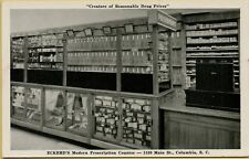 Eckerd's Drug Store Interior View Prescription Counter Columbia SC Postcard A17