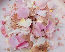 Doré Rose Biodégradable Mariage Confetti Naturelle Pétales 1L Rose Ivoire
